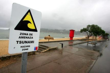 Evacuaties langs Chileense kust