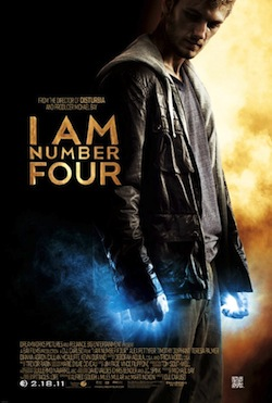 Filmposter I Am Number Four