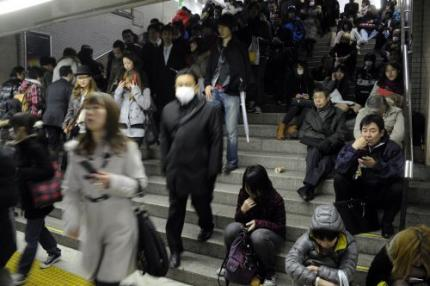 Verhoogde radioactiviteit in Tokio