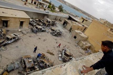 Zware explosies in en om Tripoli