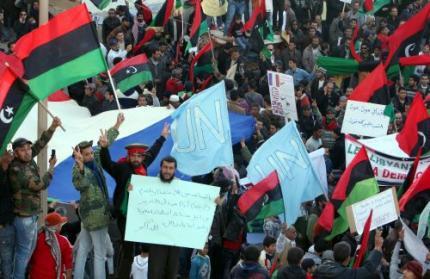 'Rebellen Libië nemen Ajdabiyah in'