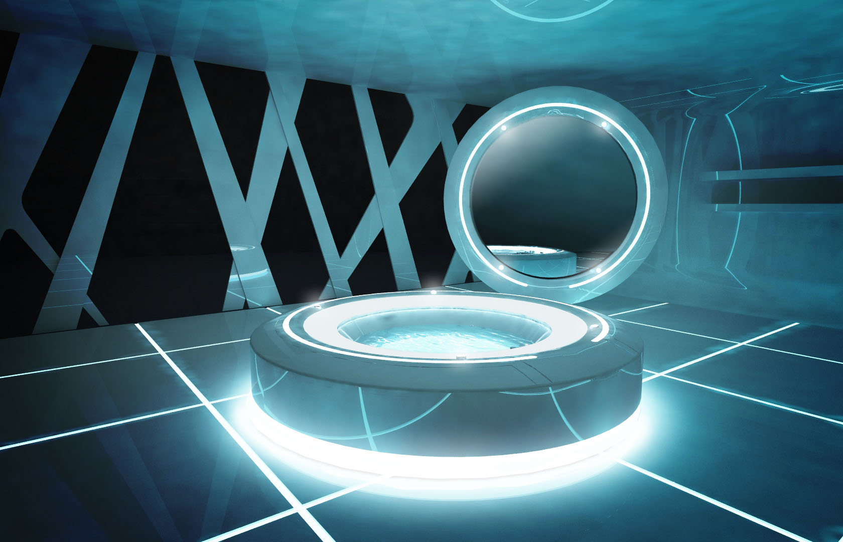 Specials designs tron legacy for Jacuzzi design