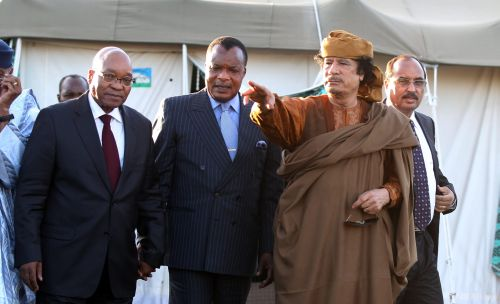 Kaddafi accepteert'routekaart' naar vrede