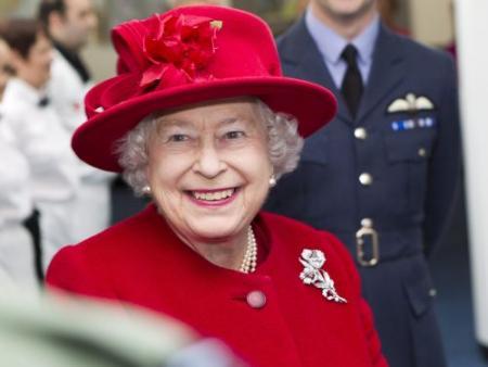Britse koningin had bloedneus