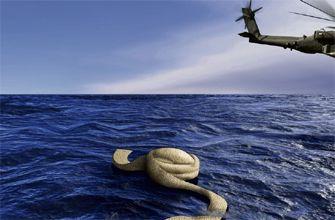 Zeemansgraf Bin Laden (foto: De Pers)