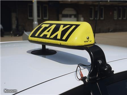 Franse taxichauffeurs protesteren tegen Uber (Foto: Novum)