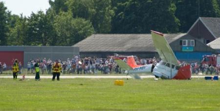 Piloot verongelukte vliegtuig Teuge overleden