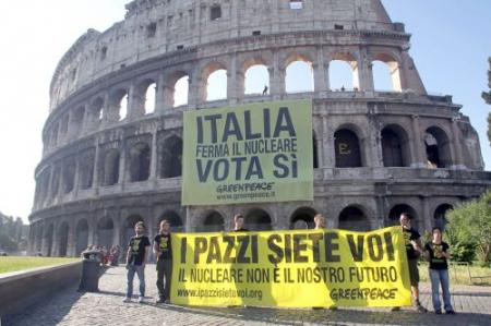 Italianen beslissen over kernenergie