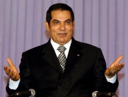 Ben Ali: niet gevlucht, maar beetgenomen
