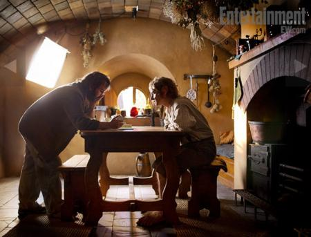 The Hobbit - Peter Jackson & Martin Freeman
