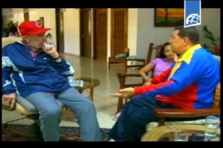 Chávez verschijnt op Cubaanse televisie