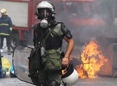 Grimmige sfeer bij Grieks parlement