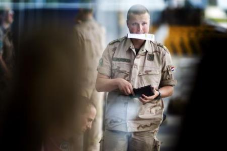 Militairen wacht moeilijke klus in Kunduz