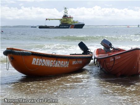 Drukke tropische week voor reddingsbrigade (Foto: Novum)