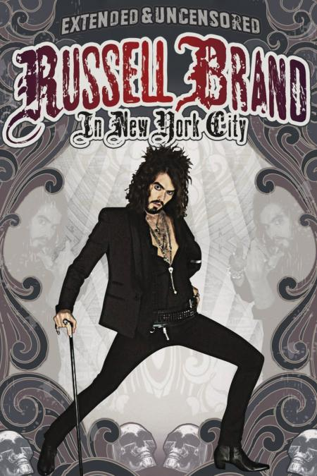 Russell Brand In New York dvd cover
