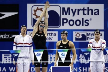 Zwemsters uitgeschakeld op 4x100 wissel