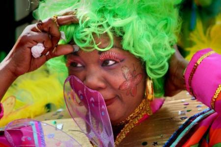 Carnaval in Rotterdam barst los