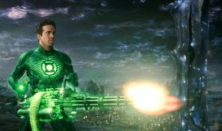 Green Lantern: Hal Jordan met construct