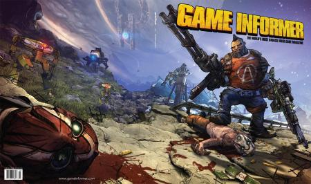 Borderlands 2 GameInformer-cover