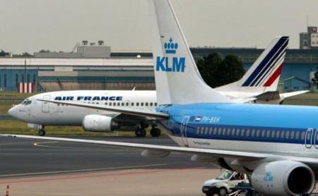 Meer passagiers minder vracht AirFrance KLM