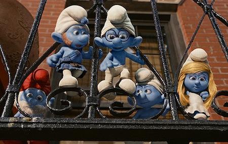 The Smurfs: Smurfen op het balkon