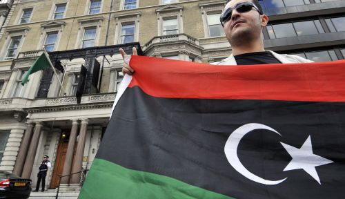 'Hoofdstad Libië vrijwel in handen rebellen'