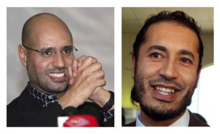 Zonen Kaddafi ruziën over onderhandelingen