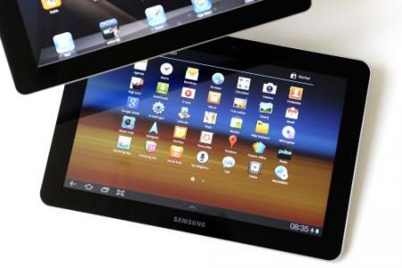 Samsung mag tablet niet verkopen in Duitsland