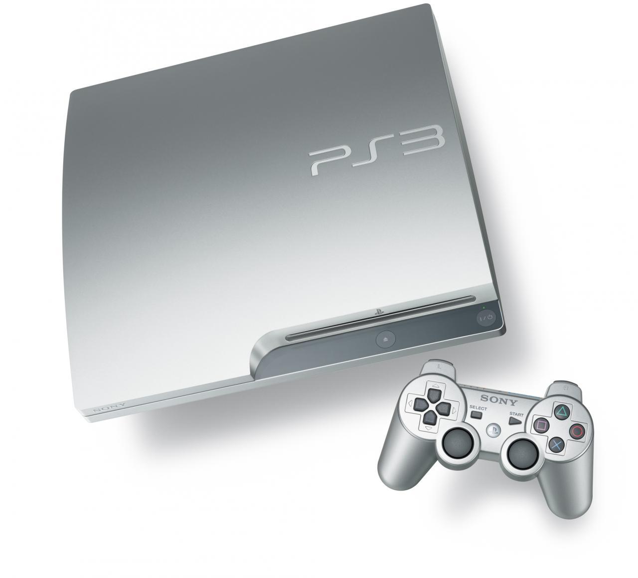 nieuws binnenkort playstation 3 in wit en zilver. Black Bedroom Furniture Sets. Home Design Ideas
