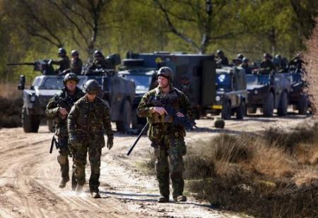 Grootste militaire oefening in 15 jaar