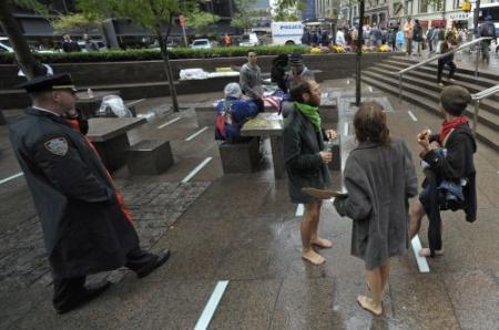 Arrestaties bij groeiend Wall Street protest