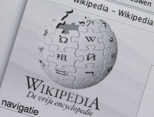 Italiaanse Wikipedia plat door protest