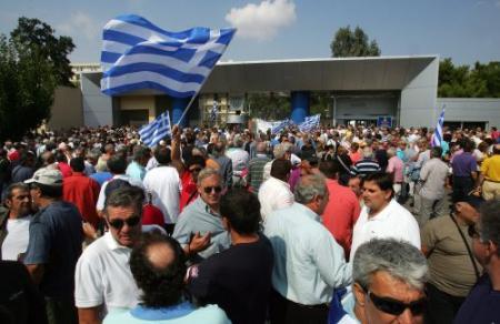 Landelijke staking in Griekenland