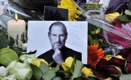 'Jobs vrijdag begraven'