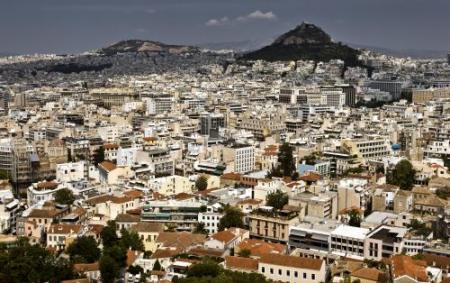 Flinke schade door explosie in Athene