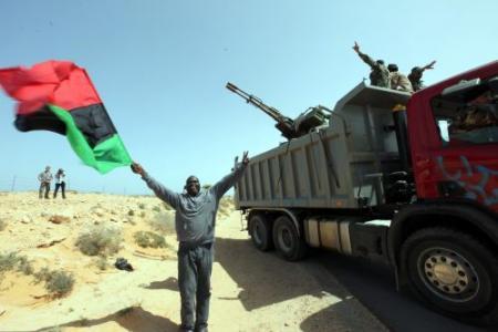 Chronologie van de opstand in Libië
