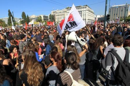 Ook rellen op tweede stakingsdag Griekenland