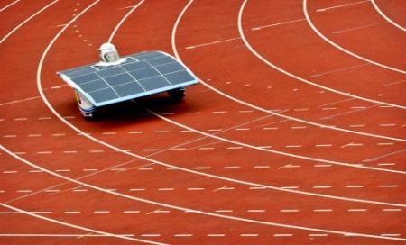 Delfts team nipt tweede in Solar Challenge