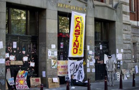 Occupy Amsterdam groeit uit zijn voegen