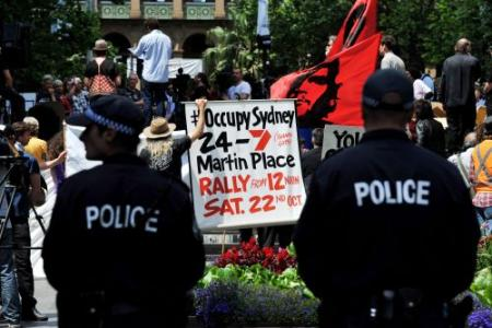 Politie maakt einde aan Occupy Sydney