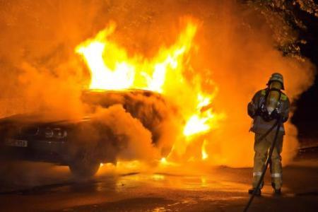 Autobrandstichter in Berlijn opgepakt