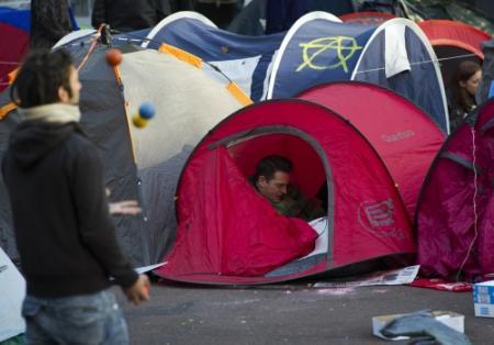 Occupy Utrecht begint politiek te storen