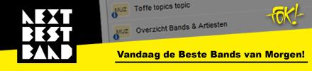 FOK! samenwerking Next Best Band