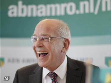 Zalm blijft nog vier jaar CEO bij ABN AMRO (Foto: Novum)