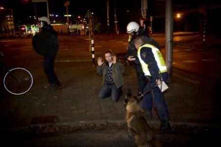 Politie in nauw bij FC Utrecht - FC Twente