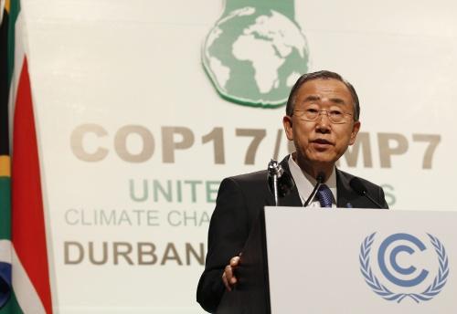 Akkoord bereikt op klimaattop Durban