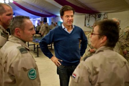 Rutte bezoekt missie Kunduz
