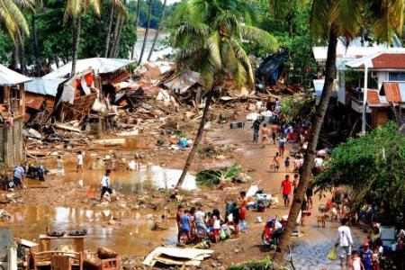 440 doden door overstromingen Filipijnen