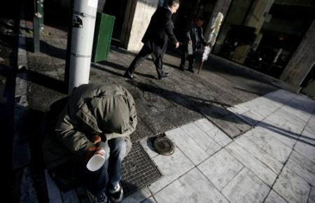 Armoede in Griekenland fors gestegen