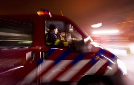 Grote brand in Noordeloos